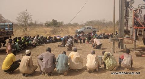Praying for water at Touroum-Naba-Yangre.